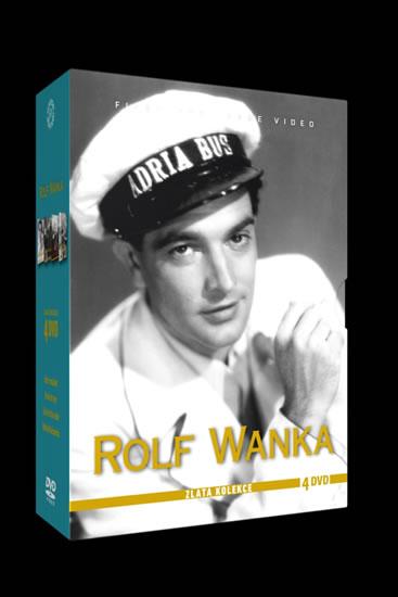 DVD Rolf Wanka - Zlatá kolekce - neuveden - 13x19 cm