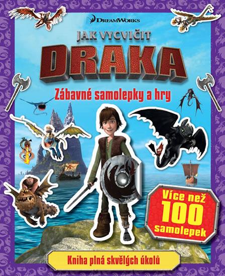 Jak vycvičit draka - Zábavné samolepky a hry - neuveden