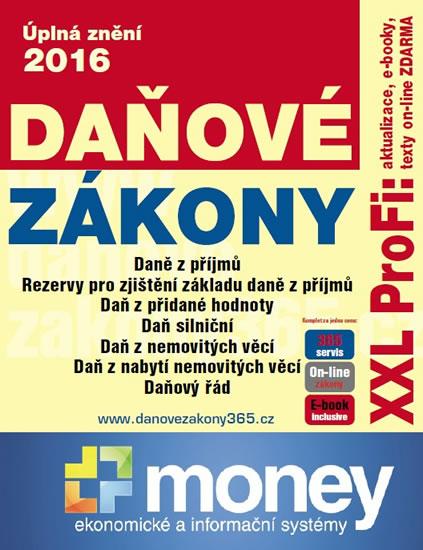 Daňové zákony 2016 XXL ProFi - neuveden
