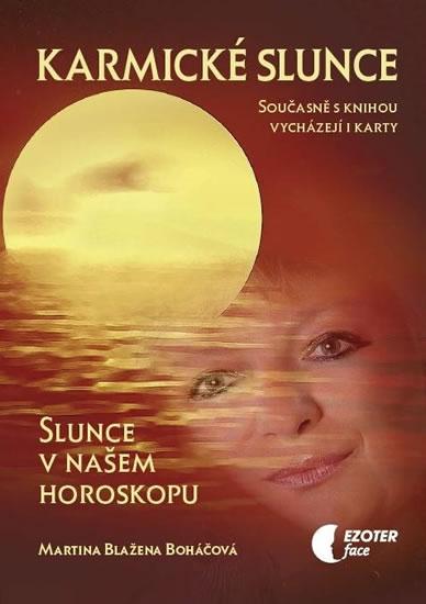 Karmické slunce (kniha + karty 28 ks) - Boháčová Martina Blažena