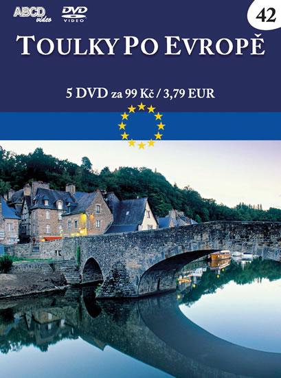 Toulky po Evropě - 5 DVD - neuveden
