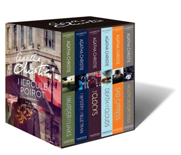 Hercule Poirot - Six Classic Hercule Poirot Mysteries - Christie Agatha