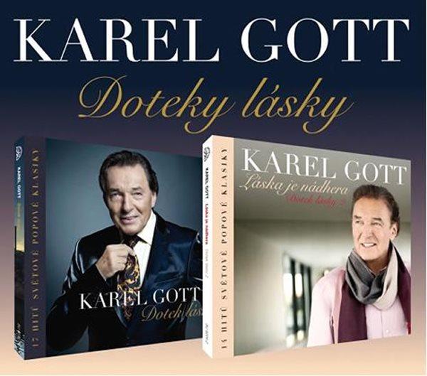 Karel Gott - Doteky lásky - 2CD - Gott Karel