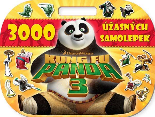 Kung Fu Panda 3 - 3000 úžasných samolepek - neuveden