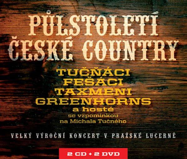 Půlstoletí české country 2CD/2DVD - Různí interpreti