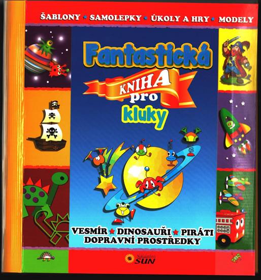 Fantastická kniha pro kluky - neuveden