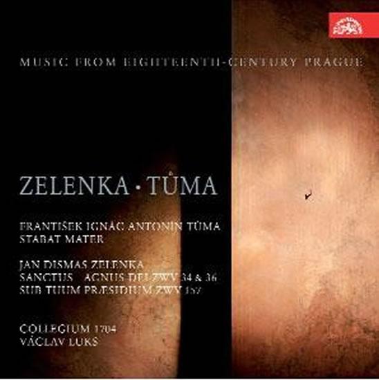 Sanctus et Agnus Dei/Stabat Mater - CD - Zelenka Jan Dismas, Tůma František Ignác Antonín