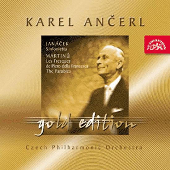 Gold Edition 24 - Janáček - Sinfonietta / Martinů - Fresky Piera della Francesca, Paraboly - CD - Janáček Leoš