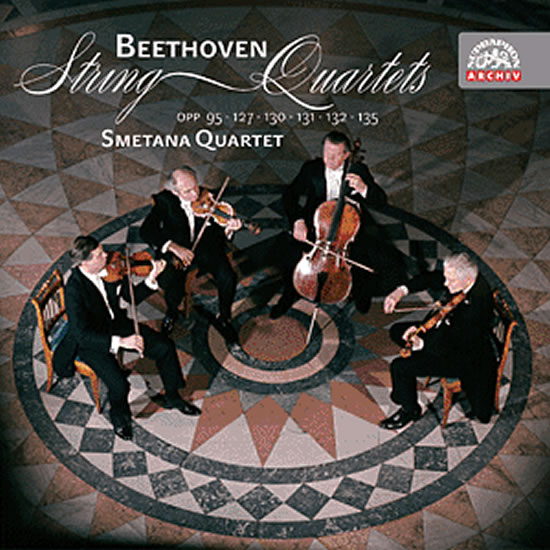 Smyčcové kvartety - Beethoven -3CD - Beethoven Ludwig van