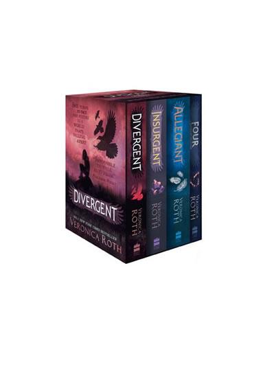 Divergent Series Box Set (Book 1 – 4) - Rothová Veronica