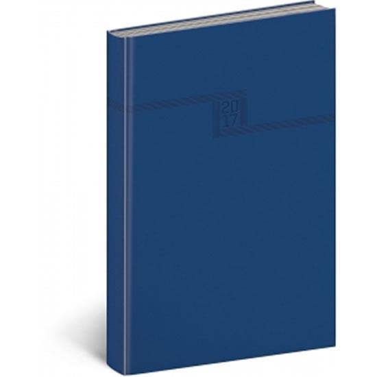 Diář 2017 - Vivella - denní A5/modrý - neuveden
