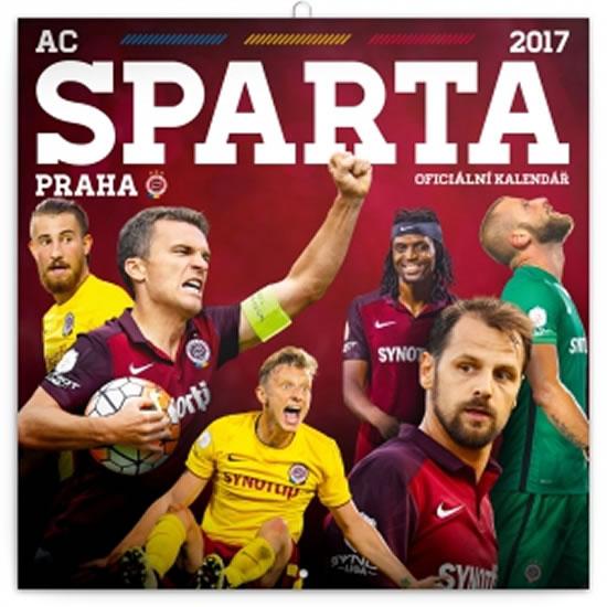 Kalendář poznámkový 2017 - AC Sparta Praha - neuveden