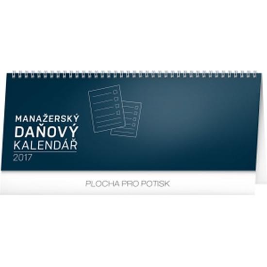Kalendář stolní 2017 - Manažerský daňový - neuveden