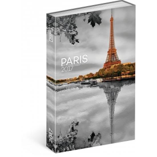 Diář 2017 - Paříž - týdenní - neuveden