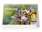 Kalendář stolní 2017 - Květiny