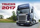 Trucks kalendář nástěnný 2017