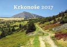 Krkonoše kalendář nástěnný 2017