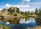 Česká krajina kalendář nástěnný 2017