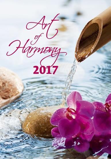 Art of Harmony kalendář nástěnný 2017 - neuveden - 31,5x45 cm