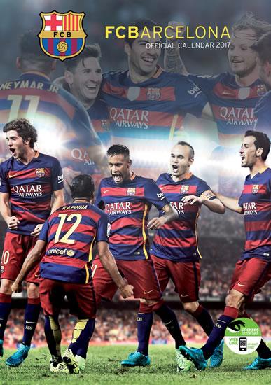 Kalendář 2017 - FC BARCELONA - neuveden
