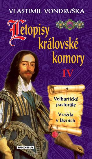 Letopisy královské komory IV. - Velhartické pastorále / Vražda v lázních - Vondruška Vlastimil - 13x21 cm, Sleva 17%