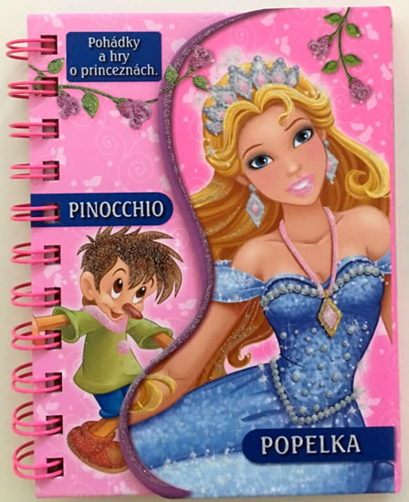 Pinocchio / Popelka - Pohádky a hry o princeznách - neuveden