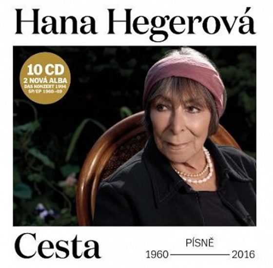 Hana Hegerová: Cesta 10 CD - Hegerová Hana