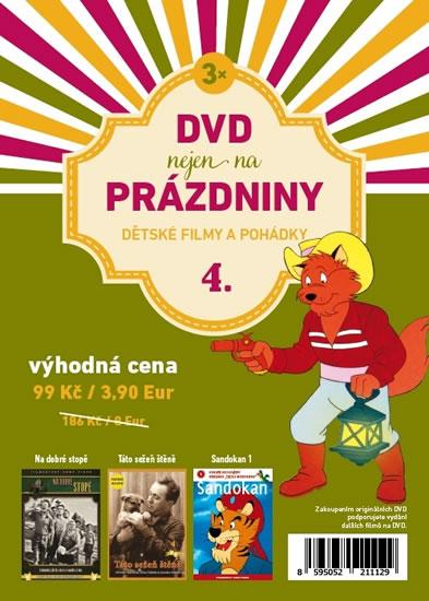 DVD nejen na Prázdniny 4. - Dětské filmy a pohádky - 3 DVD - neuveden