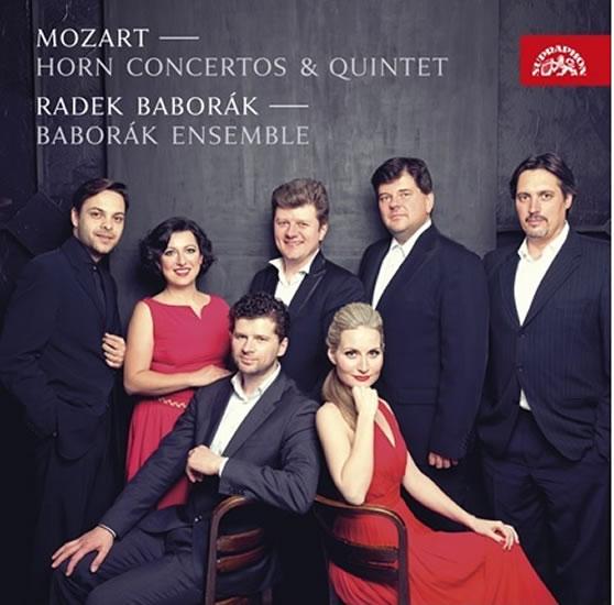 Mozart: Hornové koncerty - CD - Mozart Wolfgang Amadeus