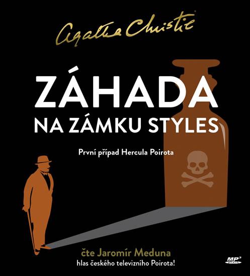 CD Záhada na zámku Styles - Christie Agatha