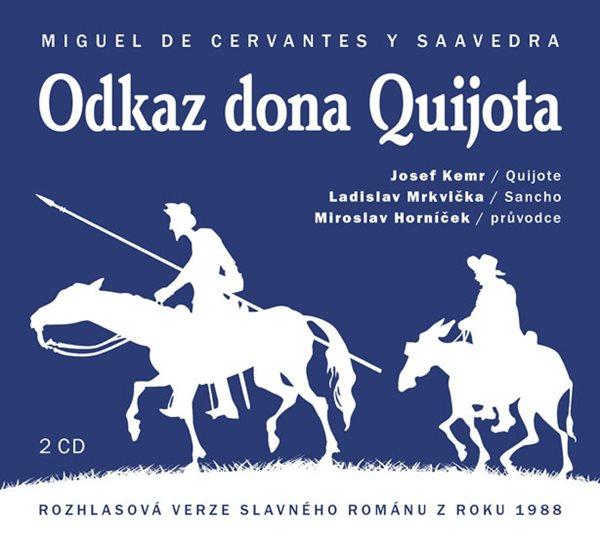 Odkaz Dona Quijota - 2CD - de Cervantes Miguel