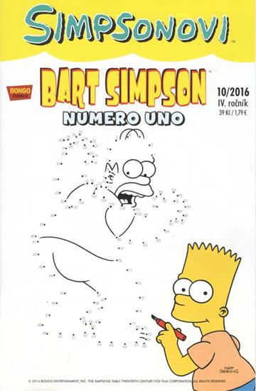 Simpsonovi - Bart Simpson 10/2016 - Numero uno - Groening Matt