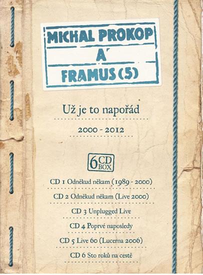 Už je to napořád 2000-2012 - 6 CD - Prokop Michal