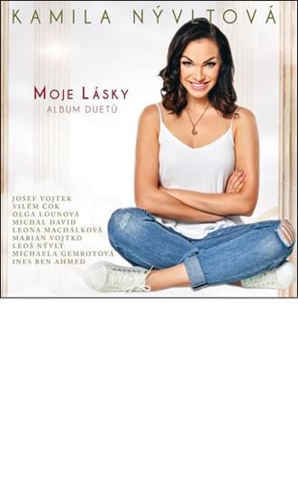 Moje lásky - CD - Nývltová Kamila