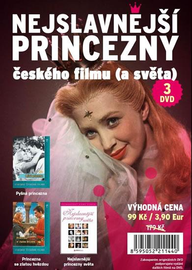 Nejslavnější princezny českého filmu (a světa) - DVD - neuveden