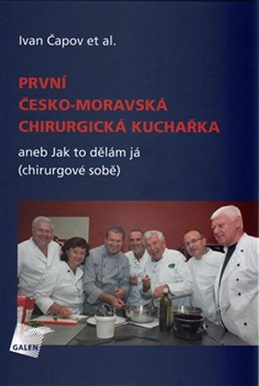 První česko-moravská chirurgická kuchařka aneb Jak to dělám já (chirurgové sobě) - Čapov Ivan