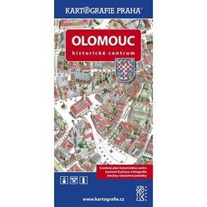 Olomouc - Historické centrum/Kreslený plán města