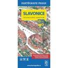Slavonice - Historické centrum/Kreslený plán města