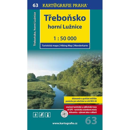1: 50T (63)-Třeboňsko,horní Lužnice (turistická mapa) - neuveden