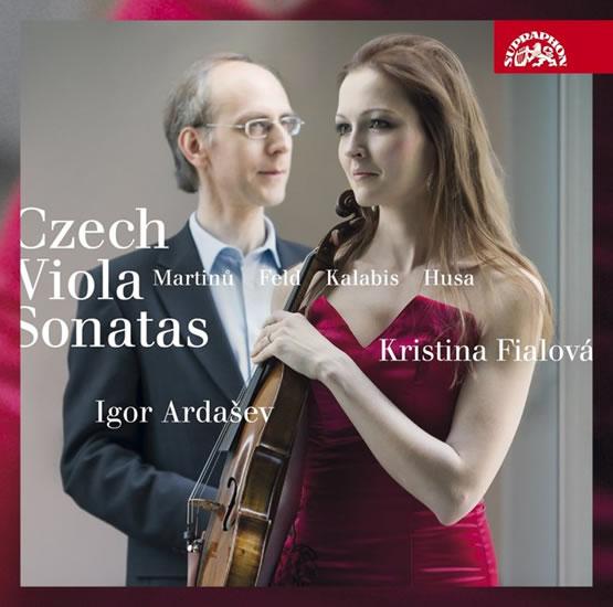 Czech Viola Sonatas / České violové sonáty - Martinů, Husa, Kalabis, Feld - CD - Fialová Kristina, Ardašev Igor,