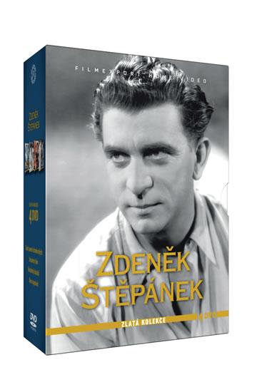 Zdeněk Štěpánek - Zlatá kolekce - 4 DVD - neuveden
