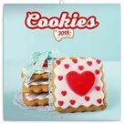 Kalendář poznámkový 2018 - Cookies, 30 x 30 cm