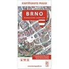 Brno - Historické centrum/Kreslený plán města