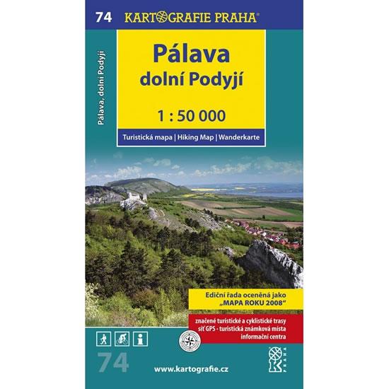 1: 50T (74)-Pálava (turistická mapa) - neuveden