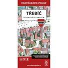 Třebíč - Historické centrum/Kreslený plán města