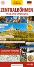 Střední Čechy - kapesní průvodce/německy