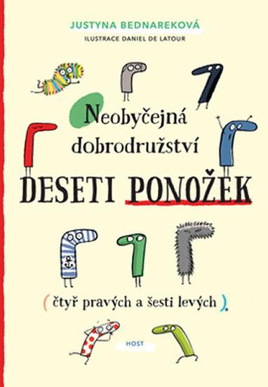 Neobyčejná dobrodružství deseti ponožek (čtyř pravých a šesti levých) - Bednareková Justyna, Sleva 15%
