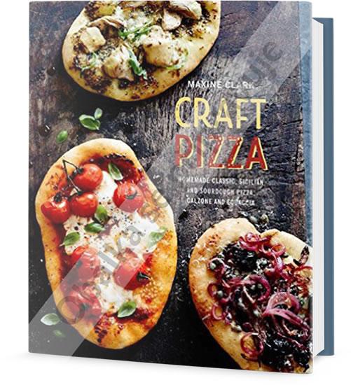 Vychytaná pizza - Domácí klasická, sicilská a kvásková pizza, calzone a focaccia - Clark Maxine