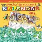 Domácí rodinný kalendář 2018