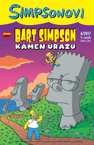 Simpsonovi - Bart Simpson 6/2017 - Kámen úrazu - Groening Matt